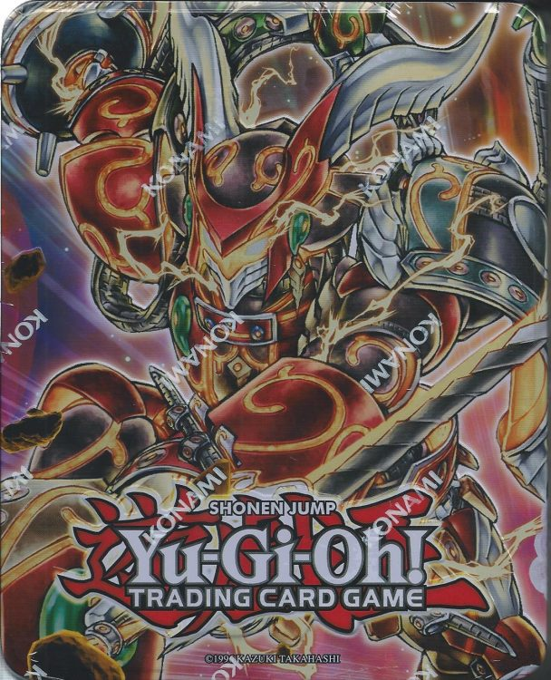 Bujin Mega Tin, one of the best collector tins in Yugioh