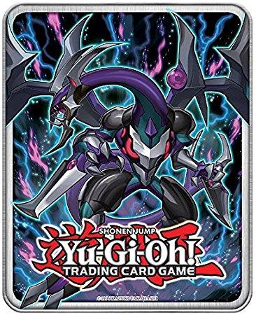 Dark Rebellion XYZ Dragon Mega Tin, one of the best collector tins in Yugioh