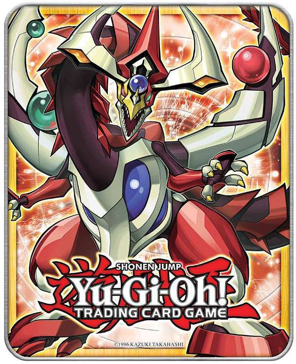 Odd-Eyes Pendulum Dragon Mega Tin, one of the best collector tins in Yugioh
