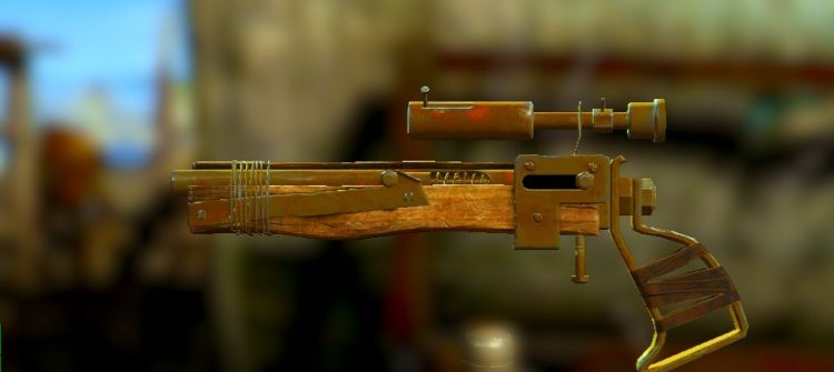 Pipe Bolt Action Pistol, one of the best sniper rifles in Fallout 4