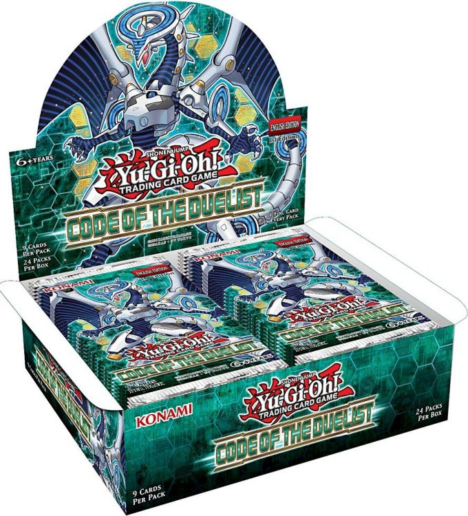 Code of the Duelist, one of the best booster pack sets in Yugioh