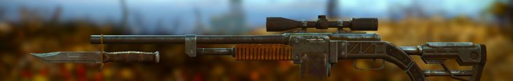 Combat Rifle, one of the best sniper rifles in Fallout 4