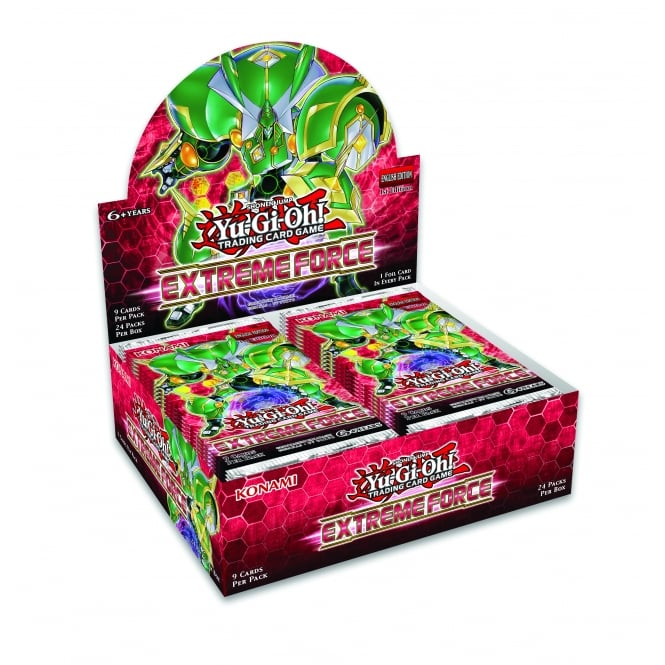 Extreme Force, one of the best booster pack sets in Yugioh