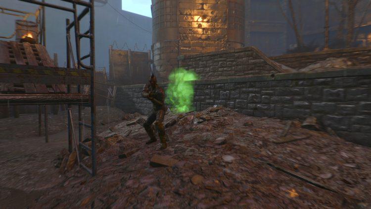 HalluciGen Gas Grenade, one of the best grenades in Fallout 4