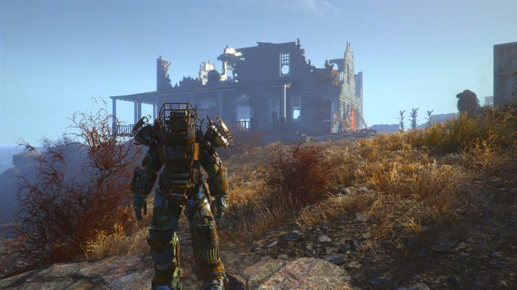 Raider, one of the best power armors in Fallout 4