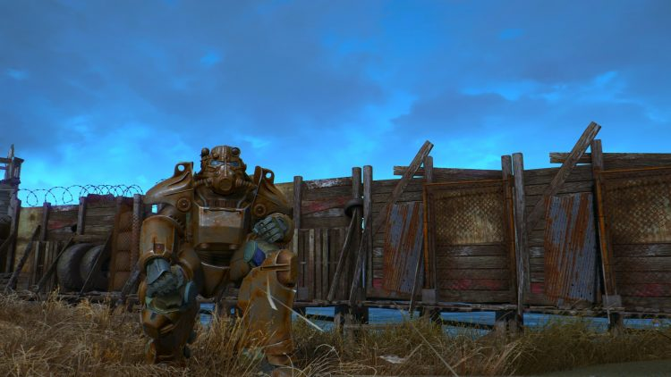 T-45, one of the best power armors in Fallout 4