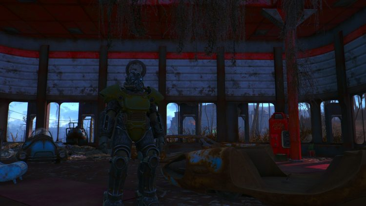 T-51, one of the best power armors in Fallout 4