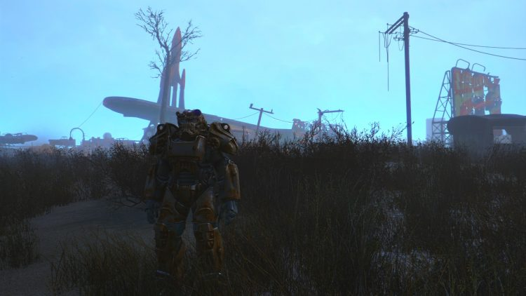 T-60, one of the best power armors in Fallout 4
