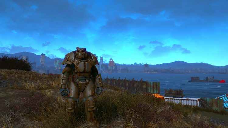 X-01, the best power armor in Fallout 4!