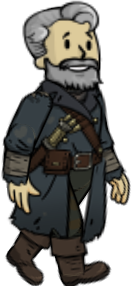 Old Longfellow, one of the best legendary dwellers in Fallout Shelter
