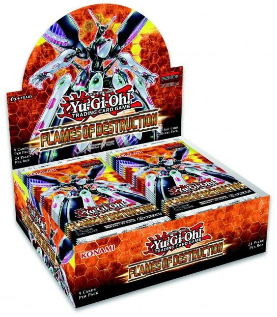 Flames of Destruction, the best booster pack set in Yugioh!
