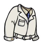 Expert Lab Coat, one of the best outfits in Fallout Shelter