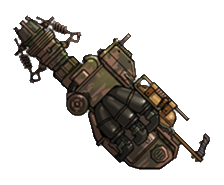 Technician's Revenge, one of the best weapons in Fallout Shelter