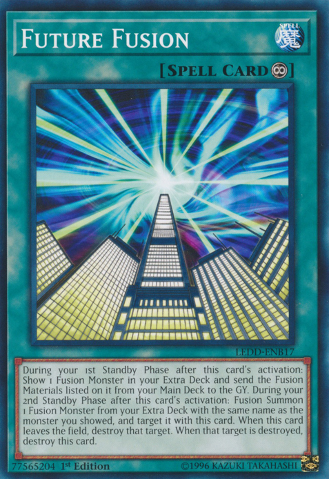 Future Fusion, one of the best mill cards in Yugioh