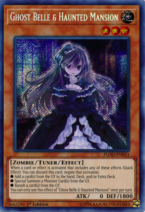Ghost Belle & Haunted Mansion, one of the best hand traps in Yugioh