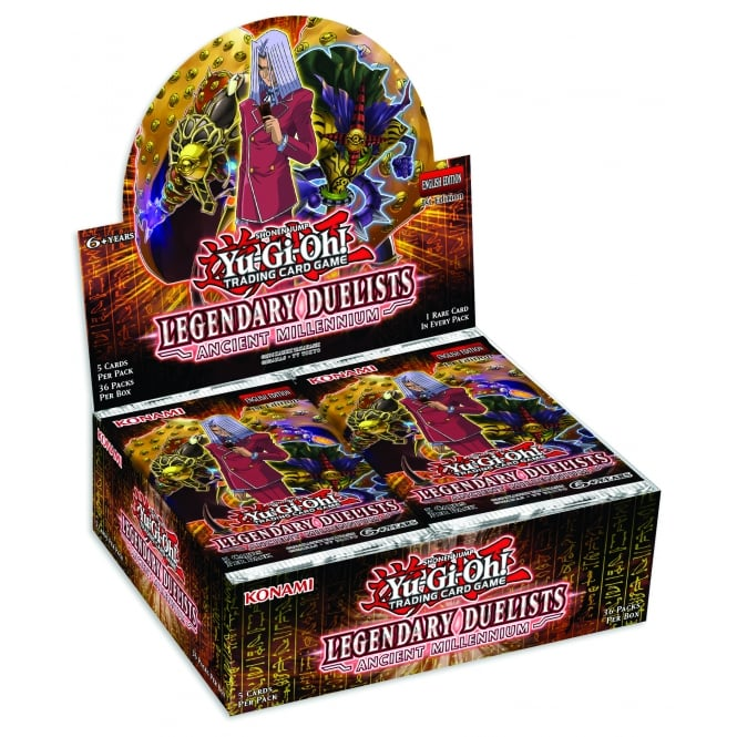 Legendary Duelists: Ancient Millennium, one of the best booster pack sets in Yugioh
