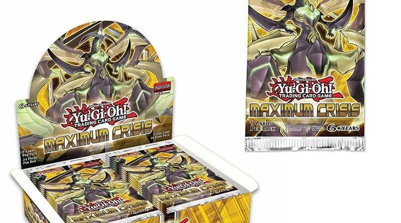 Maximum Crisis, one of the best booster pack sets in Yugioh