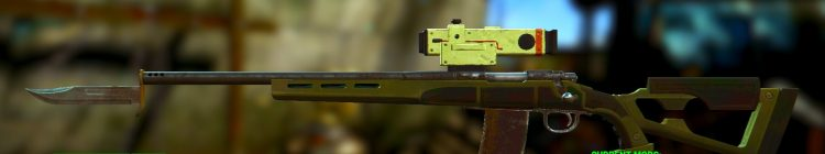 Reba 2, one of the best sniper rifles in Fallout 4