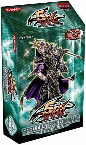 Spellcaster's Command, one of the worst Structure Decks in Yugioh