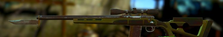 Tinker Tom Special, one of the best sniper rifles in Fallout 4