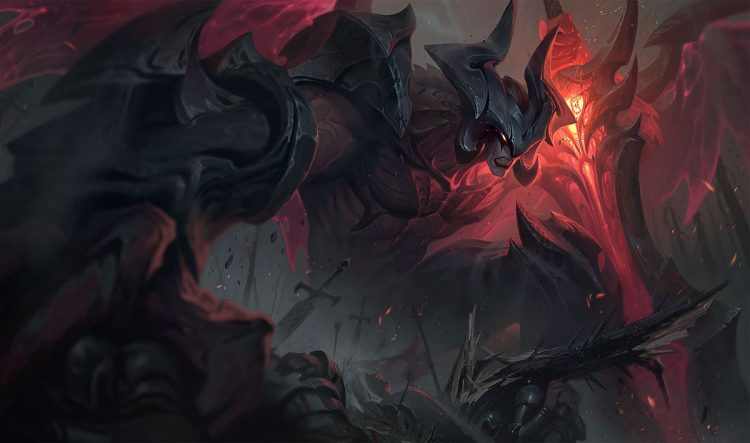 Aatrox, one of the most fun top laners in League of Legends