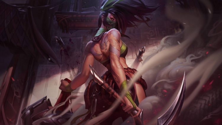 Akali, one of the most fun assassins in League of Legends