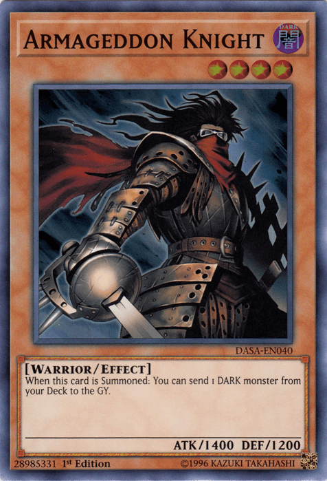 Dark Warriors, the best competitive deck in Yugioh as of November
