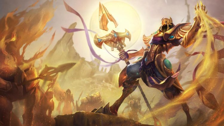 Azir, one of the most fun Mages in League of Legends