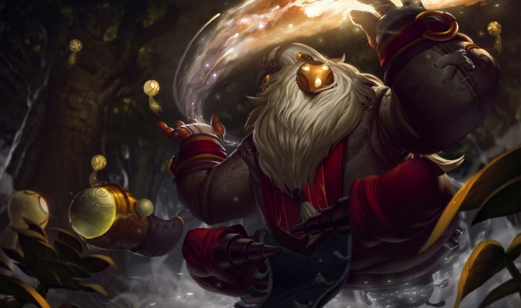 Bard, one of the most fun Supports in League of Legends