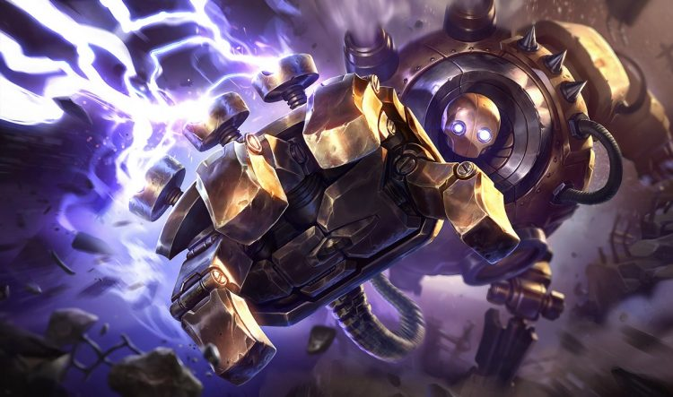 Blitzcrank, one of the most fun Supports in League of Legends