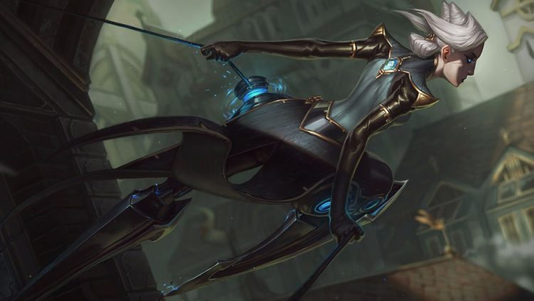 Camille, one of the most fun top laners in League of Legends