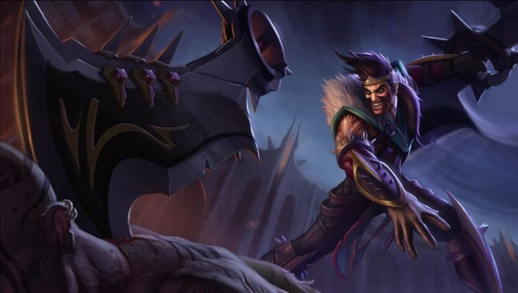 Draven, one of the most fun AD Carries in League of Legends