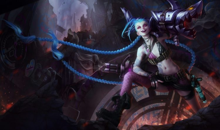 Jinx, one of the most fun AD Carries in League of Legends