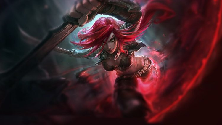 Katarina, one of the most fun assassins in League of Legends