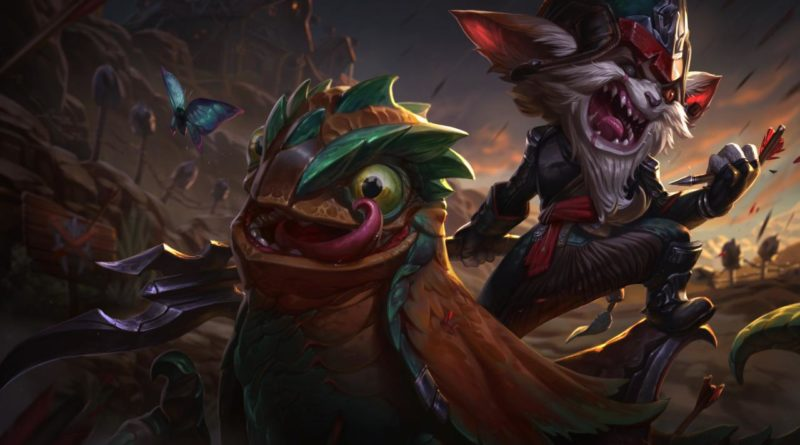 Kled, one of the most fun top laners in League of Legends