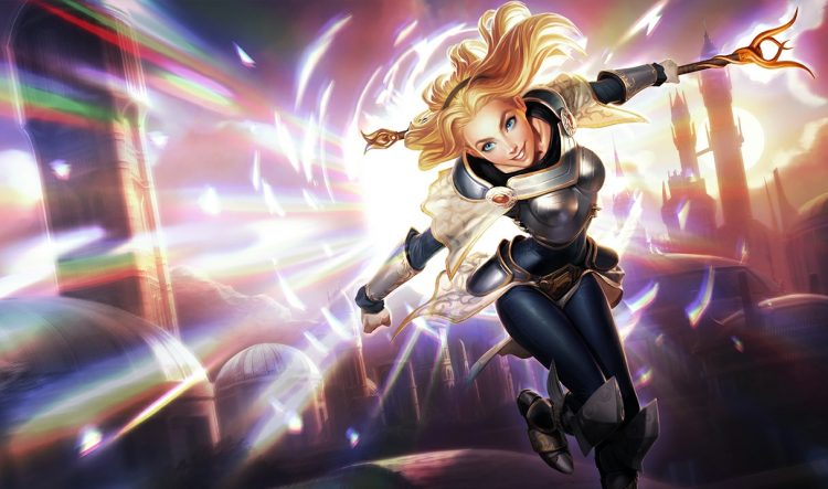 Lux, one of the most fun Mages in League of Legends