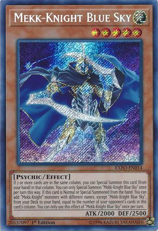 Mekk-Knights, one of the best competitive decks in Yugioh as of November
