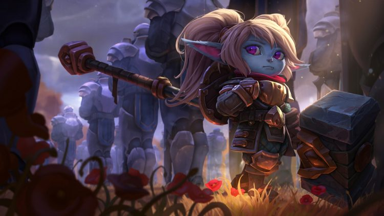 Poppy, one of the most fun top laners in League of Legends