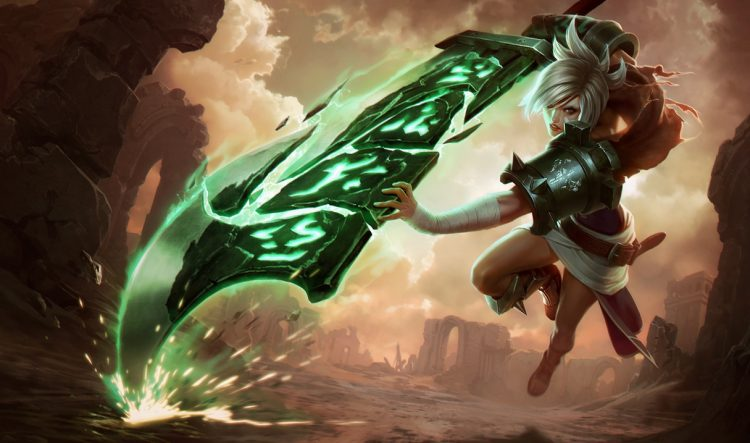 Riven, the most fun top laner in League of Legends