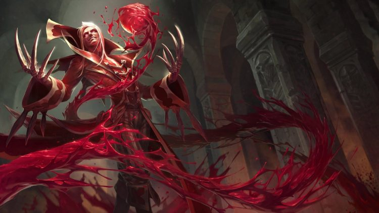 Vladimir, one of the most fun Mages in League of Legends