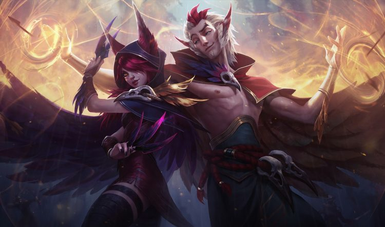 Xayah & Rakan, a really fun ADC and Support
