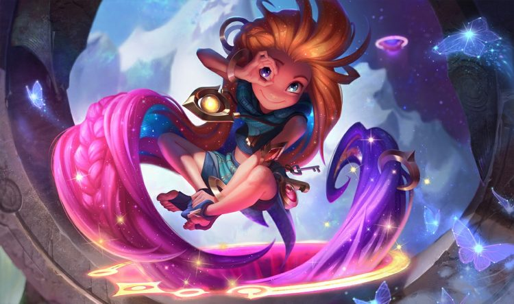 Zoe, the most fun mage in League of Legends