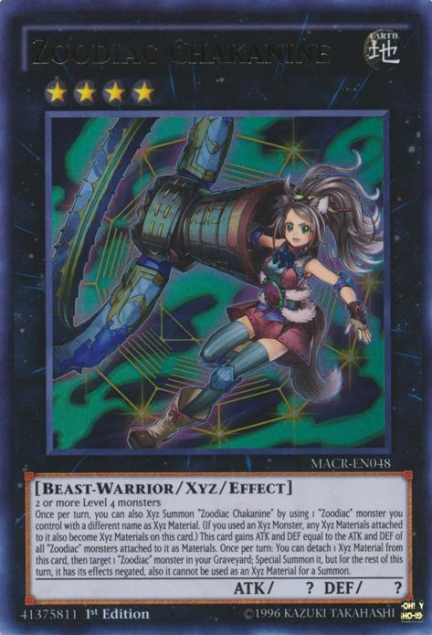 Zoodiac, the best beast-warrior archetype in Yugioh