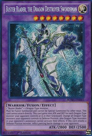 Buster Blader, one of the best warrior archetypes in Yugioh