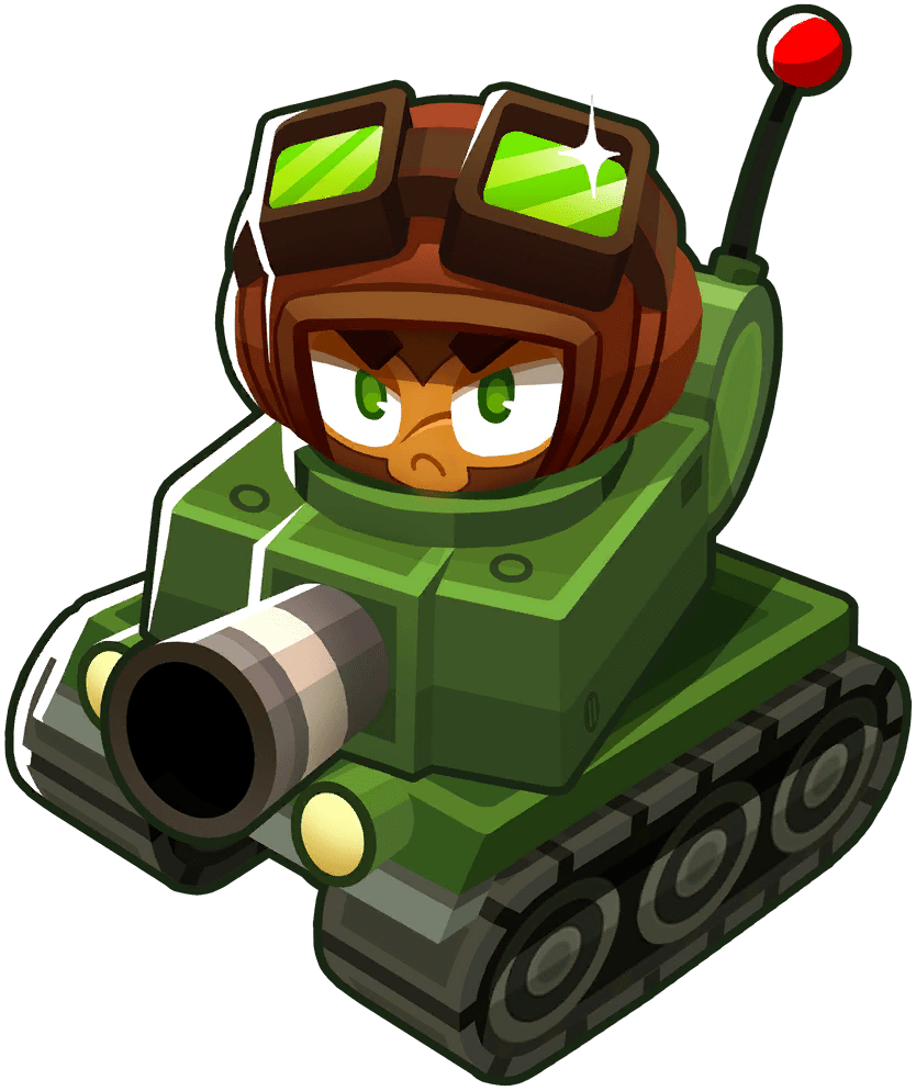 Captain Churchill, one of the best heroes in Bloons Tower Defense 6
