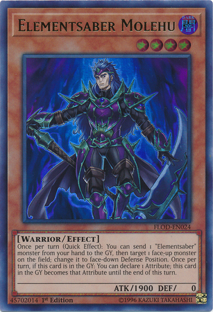 Elementsaber, one of the best warrior archetypes in Yugioh