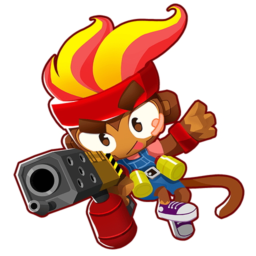 Gwendolin, one of the best heroes in Bloons Tower Defense 6