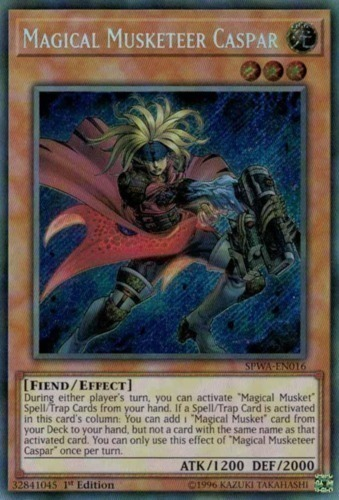 Magical Musketeer, one of the least known archetypes in Yugioh