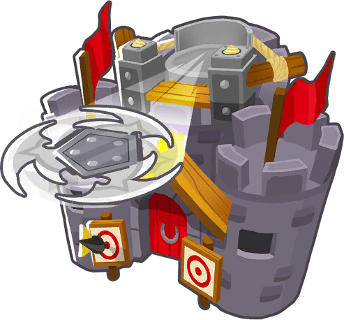 Primary Expertise, one of the best rank 5 tower upgrades in Bloons Tower Defense 6