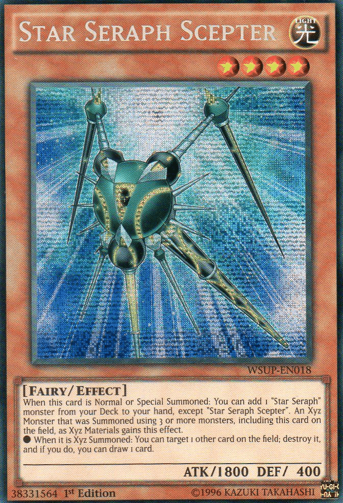Star Seraph, one of the least known archetypes in Yugioh